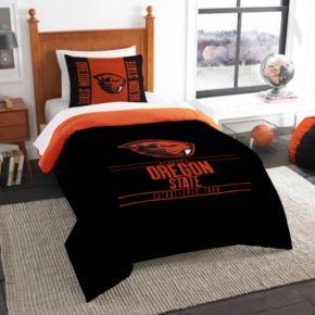 Oregon State Beavers Modern Take Twin Comforter Set by Northwest