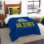 South Dakota State Jackrabbits Modern Take Twin Comforter Set by Northwest