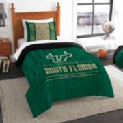 South Florida Bulls Modern Take Twin Comforter Set by Northwest