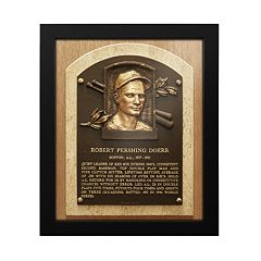 Boston Red Sox Bobby Doerr Baseball Hall of Fame Framed Plaque Print