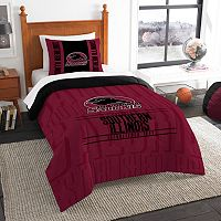Southern Illinois Salukis Modern Take Twin Comforter Set by Northwest