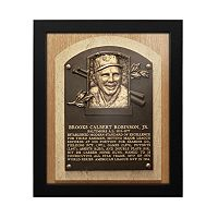 Baltimore Orioles Brooks Robinson Baseball Hall of Fame Framed Plaque Print