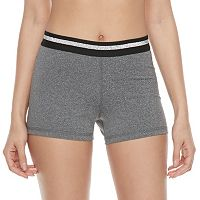 Juniors' SO® Basic Compression Shorts