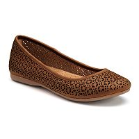 Croft & Barrow® Women's Ortholite Cutout Ballet Flats