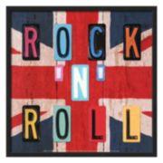 "Art.com ""Rock 'N' Roll"" Framed Wall Art"