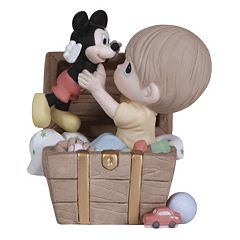 Disney's Mickey Mouse Toy Chest Boy Figurine by Precious Moments