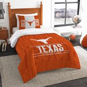 Texas Longhorns Modern Take Twin Comforter Set by Northwest