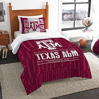 Texas A&M Aggies Modern Take Twin Comforter Set by Northwest