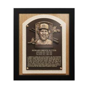 St. Louis Cardinals Bruce Sutter Baseball Hall of Fame Framed Plaque Print