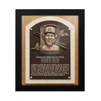 St. Louis Cardinals Bruce Sutter Baseball Hall of Fame Framed Plaque Print