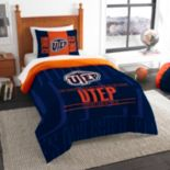 UTEP Miners Modern Take Twin Comforter Set by Northwest