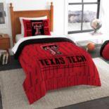 Texas Tech Red Raiders Modern Take Twin Comforter Set by Northwest
