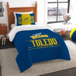 Toledo Rockets Modern Take Twin Comforter Set by Northwest