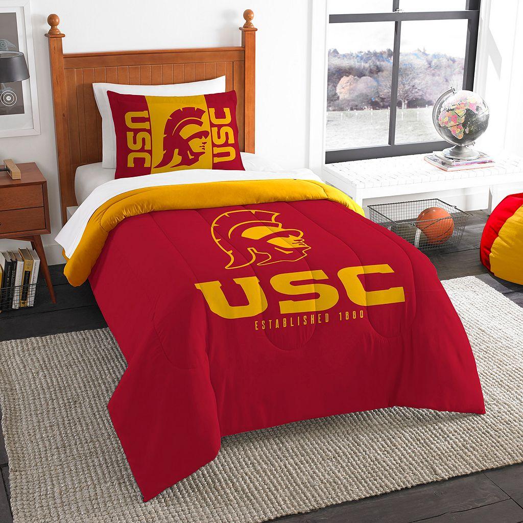 USC Trojans Modern Take Twin Comforter Set by Northwest
