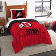 Utah Utes Modern Take Twin Comforter Set by Northwest