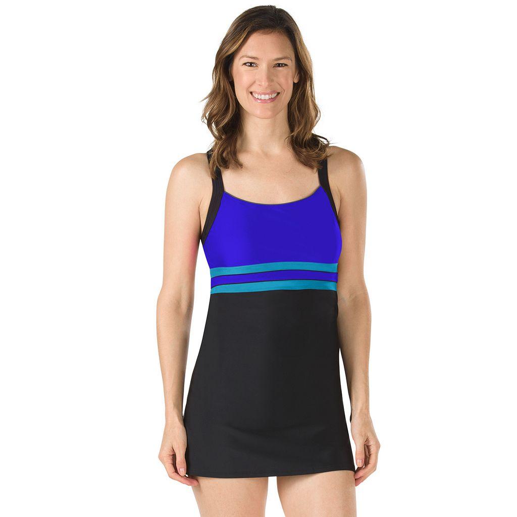 Women's Speedo Horizon Splice Swimdress