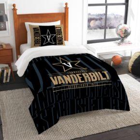 Vanderbilt Commodores Modern Take Twin Comforter Set by Northwest