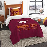 Virginia Tech Hokies Modern Take Twin Comforter Set by Northwest