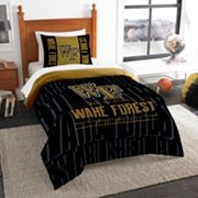 Wake Forest Demon Deacons Modern Take Twin Comforter Set by Northwest
