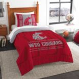 Washington State Cougars Modern Take Twin Comforter Set by Northwest