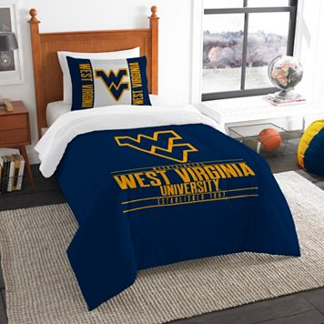 West Virginia Mountaineers Modern Take Twin Comforter Set by Northwest