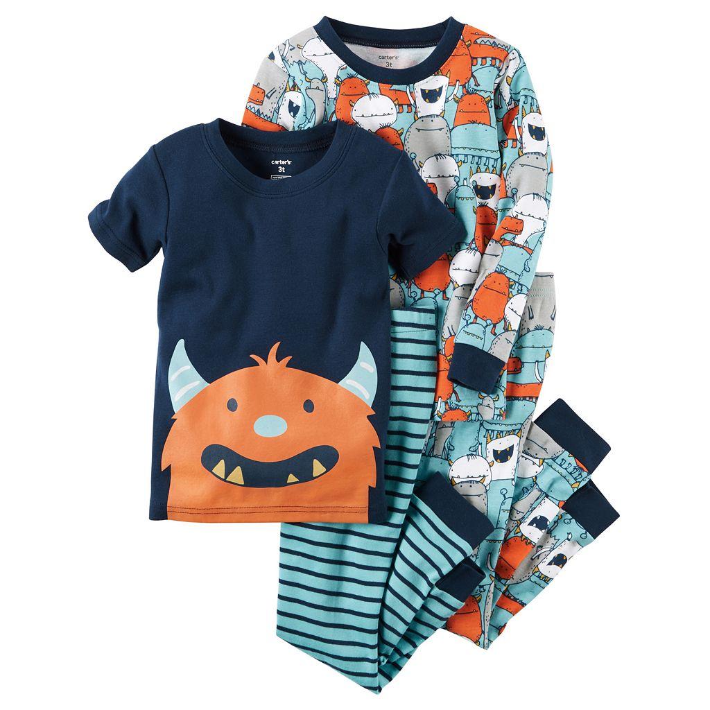 Toddler Boy Carter's Graphic & Print Pajama Set