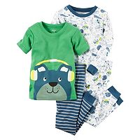 Toddler Boy Carter's Graphic & Print Pajama Set