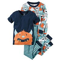 Baby Boy Carter's Graphic & Print Pajama Set