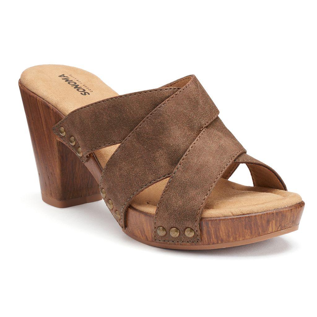 SONOMA Goods for Life™ Eeva Women's Block-Heel Sandals