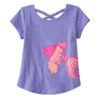 Toddler Girl Jumping Beans® Braided Textured Graphic Tee