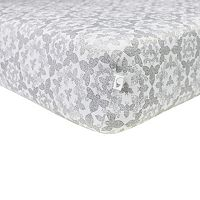 Burt's Bees Baby Organic Paisley Bee Fitted Crib Sheet