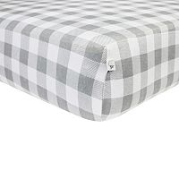 Burt's Bees Baby Organic Buffalo Check Fitted Crib Sheet