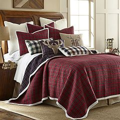 Plaid Sherpa Quilt Set