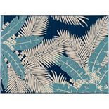 Decor 140 Burrageara Leaf Indoor Outdoor Rug