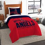 Los Angeles Angels of Anaheim Grand Slam Twin Comforter Set by The Northwest