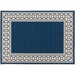 Decor 140 Keene Framed Trellis Indoor Outdoor Rug