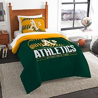 Oakland Athletics Grand Slam Twin Comforter Set by Northwest