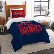 Atlanta Braves Grand Slam Twin Comforter Set by Northwest