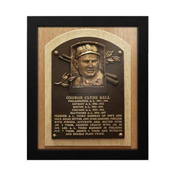 Detroit Tigers George Kell Baseball Hall of Fame Framed Plaque Print