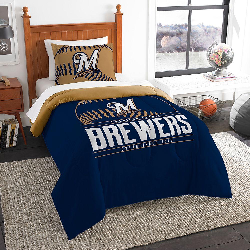 Milwaukee Brewers Grand Slam Twin Comforter Set by Northwest