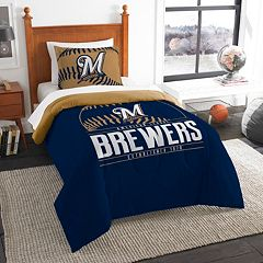 Milwaukee Brewers Grand Slam Twin Comforter Set by Northwest