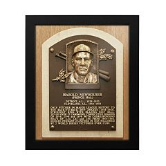 Detroit Tigers Hal Newhouser Baseball Hall of Fame Framed Plaque Print