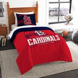 St. Louis Cardinals Grand Slam Twin Comforter Set by The Northwest