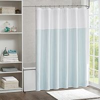 Madison Park Carson Jacquard Shower Curtain