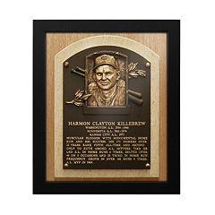 Minnesota Twins Harmon Killebrew Baseball Hall of Fame Framed Plaque Print