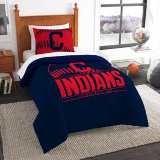 Cleveland Indians Grand Slam Twin Comforter Set by Northwest