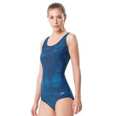 Women's Speedo Contour Snakeskin One-Piece Swimsuit