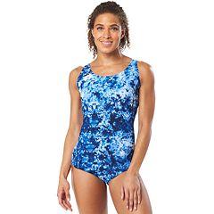 Women's Speedo Contour Snakeskin One-Piece Swimsuit