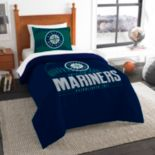 Seattle Mariners Grand Slam Twin Comforter Set by Northwest