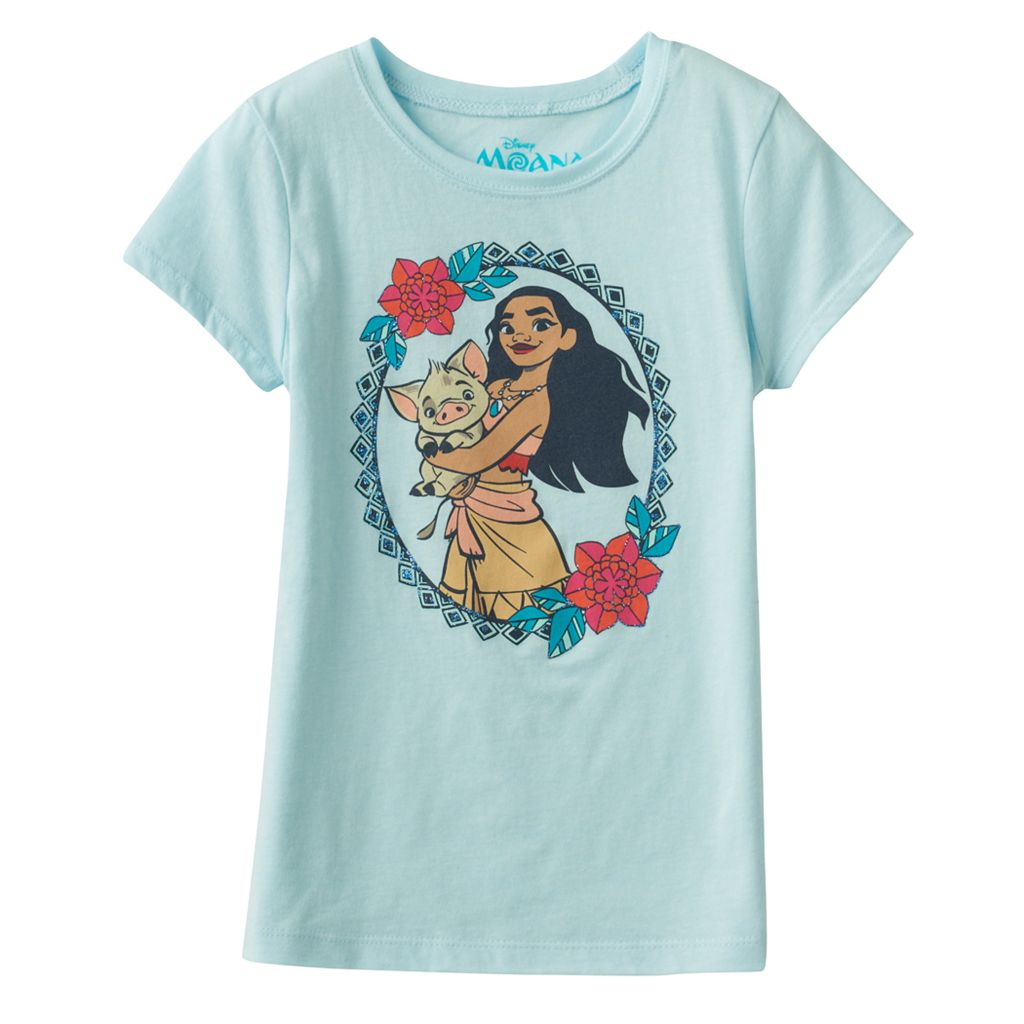Disney's Moana & Pua Girls 7-16 Graphic Tee